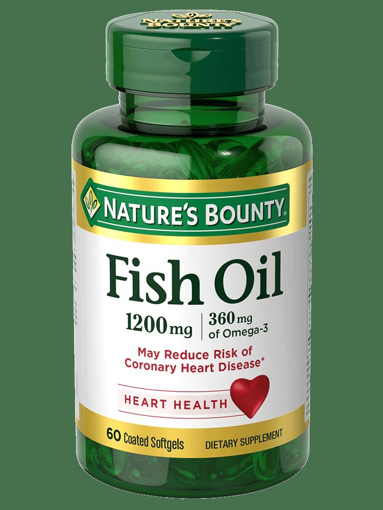 Fish Oil Softgels 1200mg